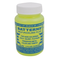 Batterns Self-Pickling Flux for Hard Soldering 3 Oz