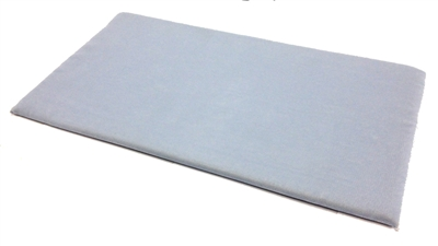 Velvet Pad Royal Grey 14 x 7.5 Inches