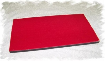 Foam Pad Horizontal  Persian Red 72 Rings 14 x 7.5 Inches