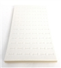 Foam Pad Vertical White 72 Rings 14 x 7.5 Inches