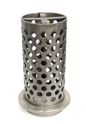 "Neutec SuperPerf Flanged Flask with Cross-Bar, 4"" dia. 9 inches tall"