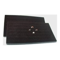 Foam Pad Horizontal Black 72 Rings 14 x 7.5 Inches