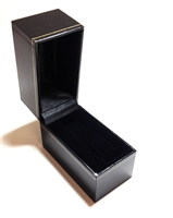 Watch or Bangle Box in Black  2-3/4 x 3-3/4 x 3-1/4""