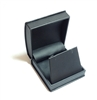 Black Leatherette Earring or Pendant Box