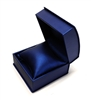Navy Blue Leatherette Watch or Bangle Box