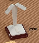 EARRING-RING STAND 2330 CHERRY