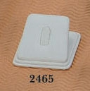 RING 1 CLIP WEDGE 2465 WHITE
