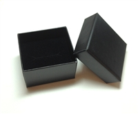 Black Carton Insert Ring Box (100)