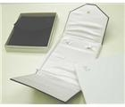 Pearl or Necklace Folder Large  White Leatherette
