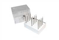 Panther Burs, Set of 12, Cone Square Cross-Cut, Fig. 23