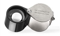 Bausch & Lomb 10x Coddington Loupe