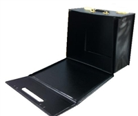 Leather Collapsible Carry Case For 12 Trays