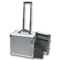 Aluminium Case With Wheels holds 12 trays