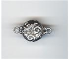 Magnetic Clasp 13.82mm Sterling Scroll