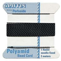 Bead Cord Black Nylon