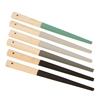 Emery Half-Round Sanding Sticks Set of 6