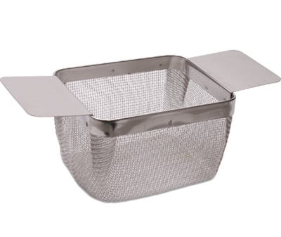 Rectangular Stainless Steel Extra-Fine Mesh Cleaning Baskets