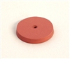Square Edged Polishing Wheel 7/8 x 1/8 Inch Hi-Shine Pink (20)