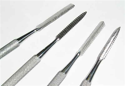 File Wax Carving Set of 4