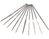 "4"" Precision Diamond Needle File Set - 10 piece"