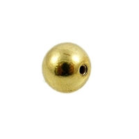 Memory Wire End Caps Gold Plated 5mm (12)