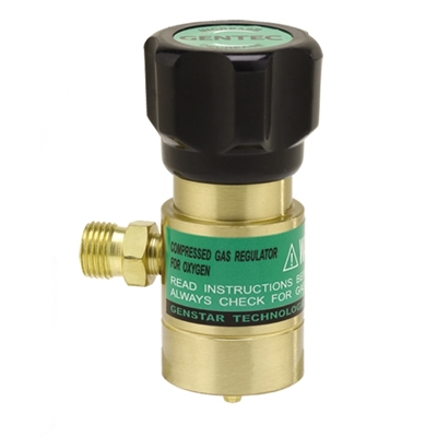 Oxygen Regulator for Disposable Tanks