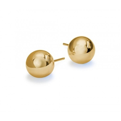 14KT Yellow Ballstud 3.00mm Priced per piece