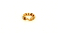 Yellow Gold Filled Splitring 6.2mm (10)