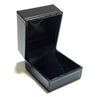 Ring Finger Box in Black  1-3/4 x 2 x 1-1/2