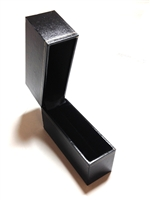 Cartier Style Black Leatherette Bangle Box