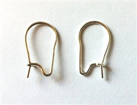 Sterling Silver Ear Wire - Heavy (per piece)