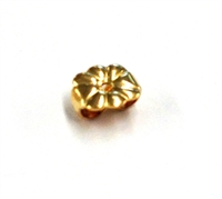 Yellow Gold Filled Earnut Swirl Heavy (10)