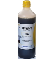 Legor Black Rhodium for Bath Plating Solution - 500ml 1 gram