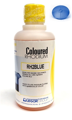 Blue Rhodium  2g/ 500ml Plating Solution Italian