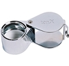 Chrome 10X Single Lens Loupe