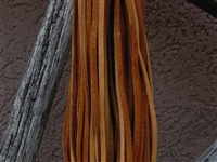 Leather Strands 1/8 (3 mm) Medium Brown