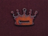 Rusted Iron Crown Pendant