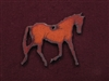 Rusted Iron Trotting Horse Pendant