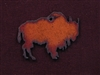 Rusted Iron Buffalo Pendant
