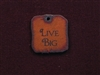 Rusted Iron Live Big Inspiration Pendant