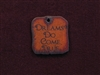 Rusted Iron Dreams Do Come True Inspiration Pendant