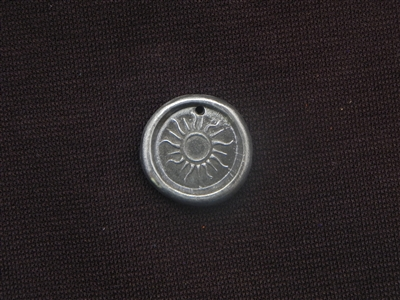 Safe To Shine Antique Silver Colored Wax Seal