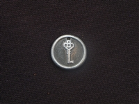 Unlock Your Truth Antique Silver Colored Wax Seal