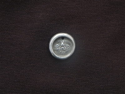 Be Kind Antique Silver Colored Wax Seal