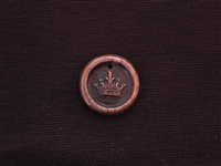 Only Room For 1 Antique Copper Colored Wax Seal
