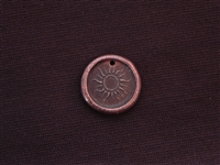 Safe To Shine Antique Copper Colored Wax Seal