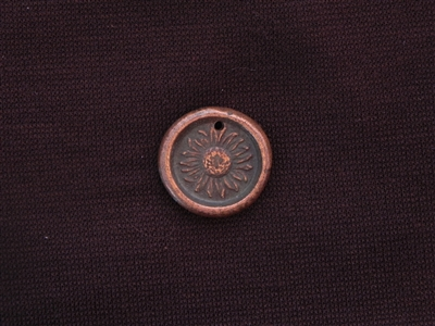 Time To Bloom Antique Copper Colored Wax Seal