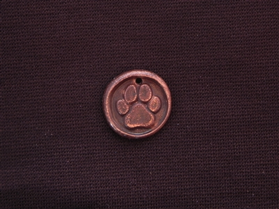 Rescued Antique Copper Colored Wax Seal