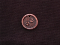 Save My Spot Antique Copper Colored Wax Seal