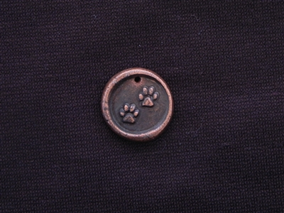 My Kids Have Fur Antique Copper Colored Wax Seal